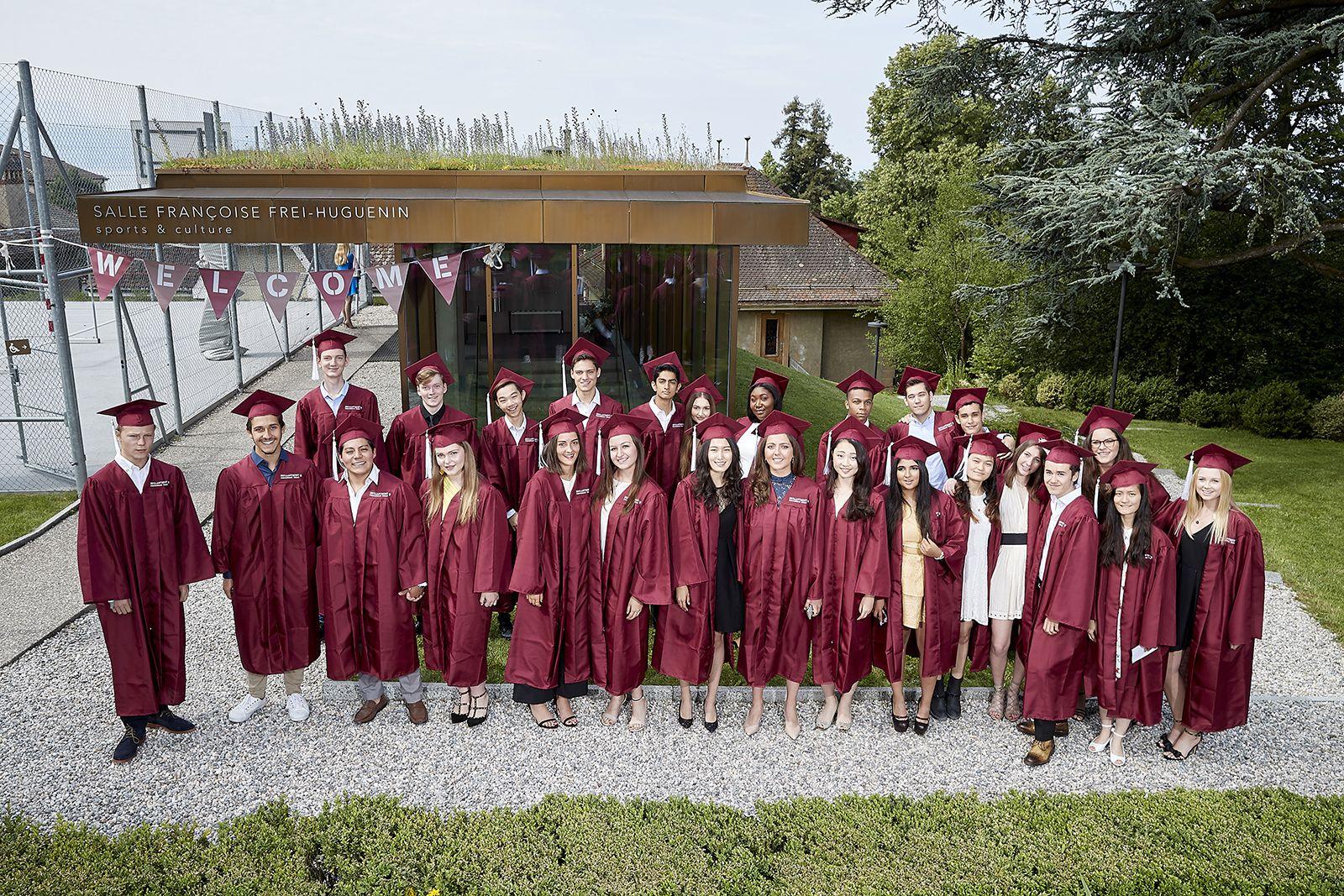 Brillantmont graduates at the school campus