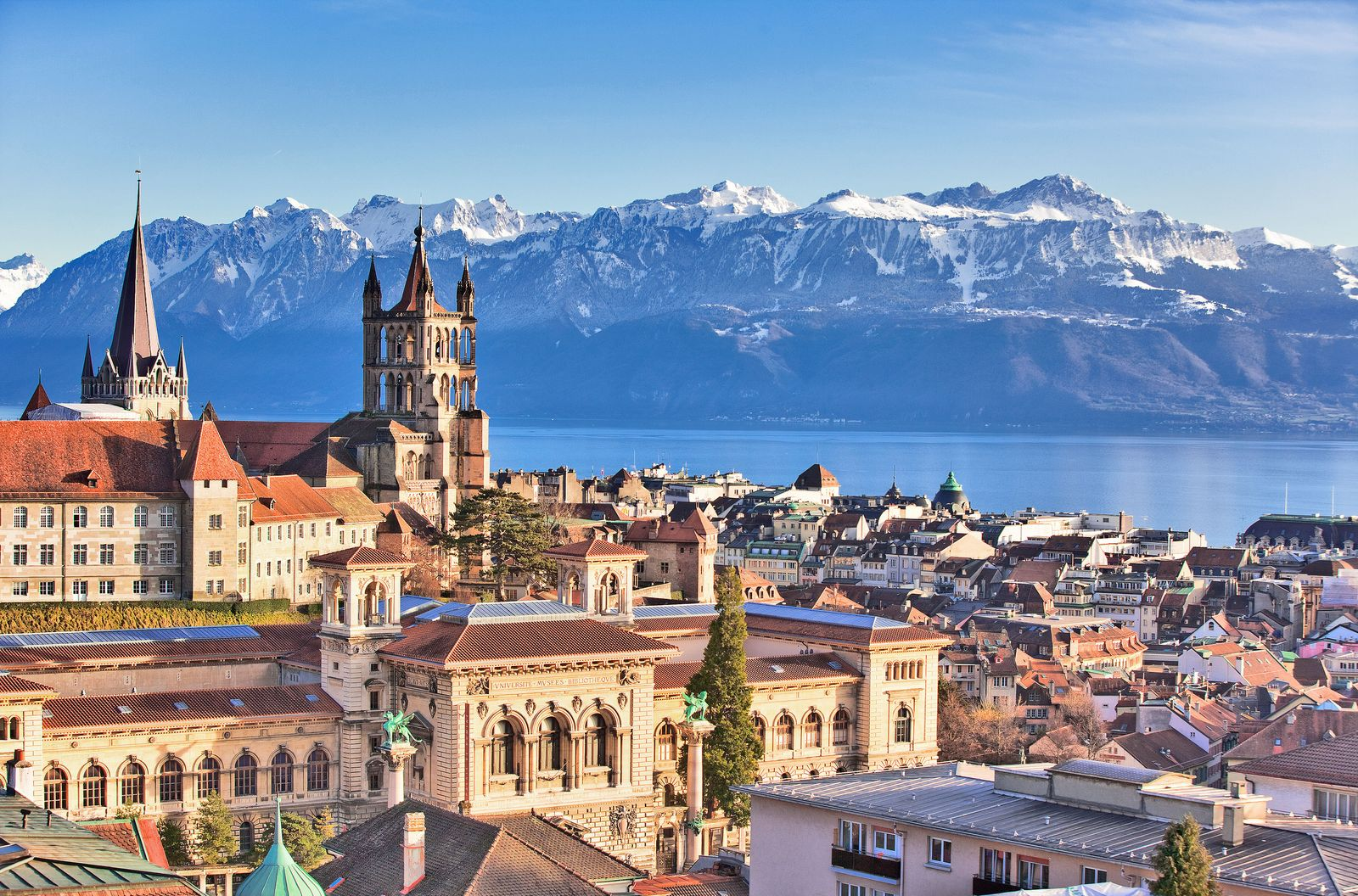 Study year abroad in Lausanne Switzerland
